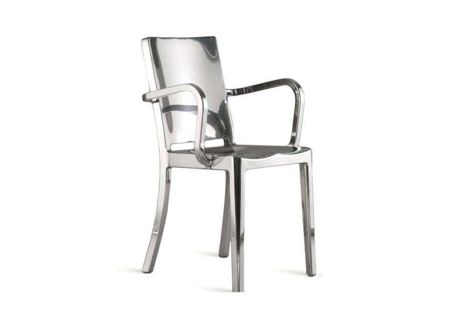 Hudson Armlehnen Stuhl poliert