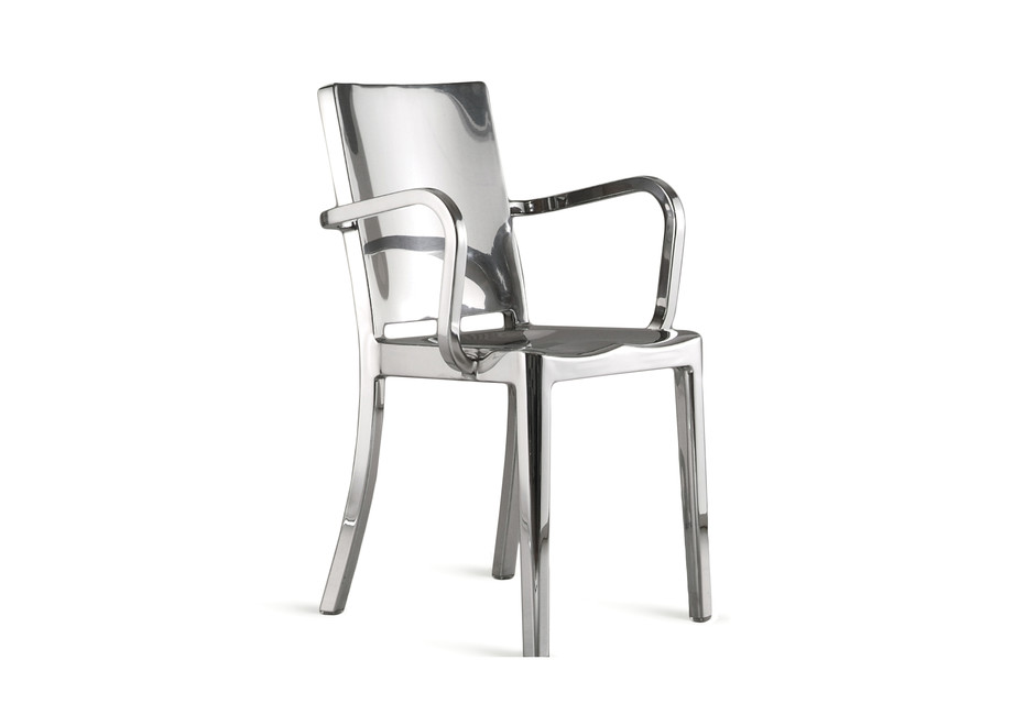 Hudson Armchair polished