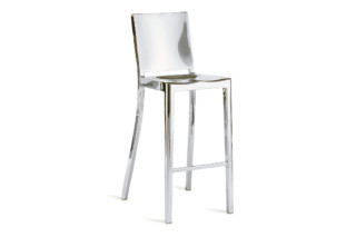 Hudson Bar stool polished  by  Emeco