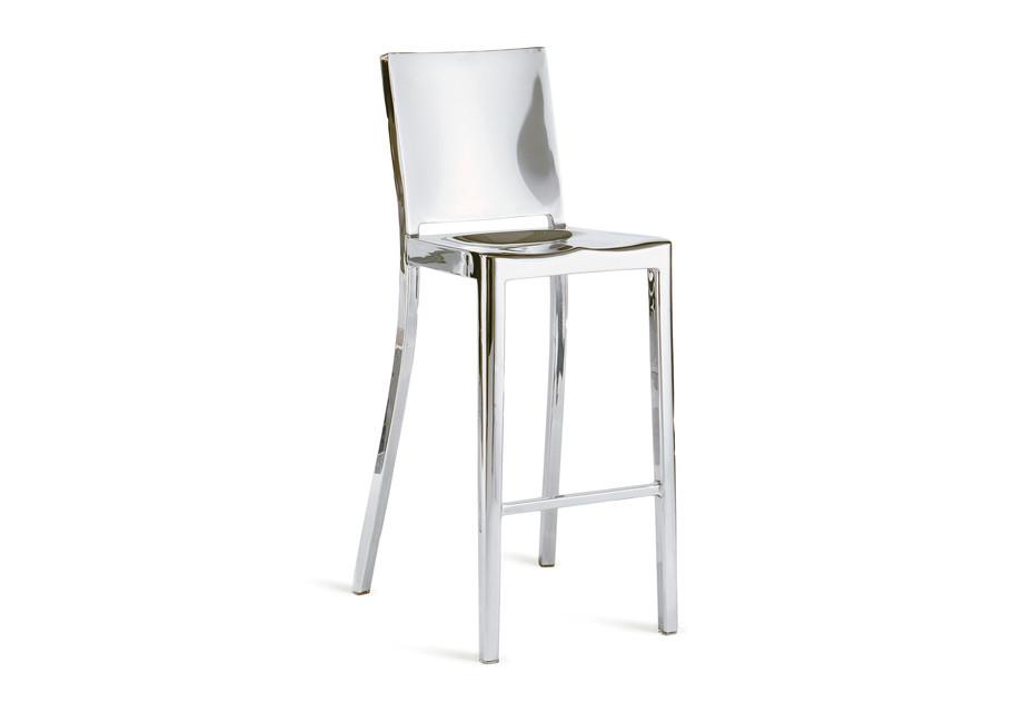 Hudson Bar stool polished