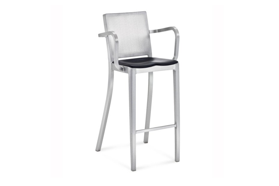 Hudson Bar stool with armrests