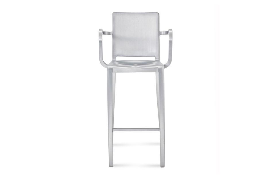 Hudson Bar stool with armrests