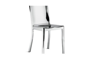 Hudson Chair polished  by  Emeco