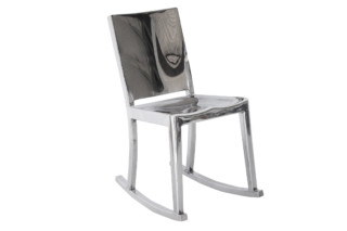 Hudson Rocking chair polished  by  Emeco
