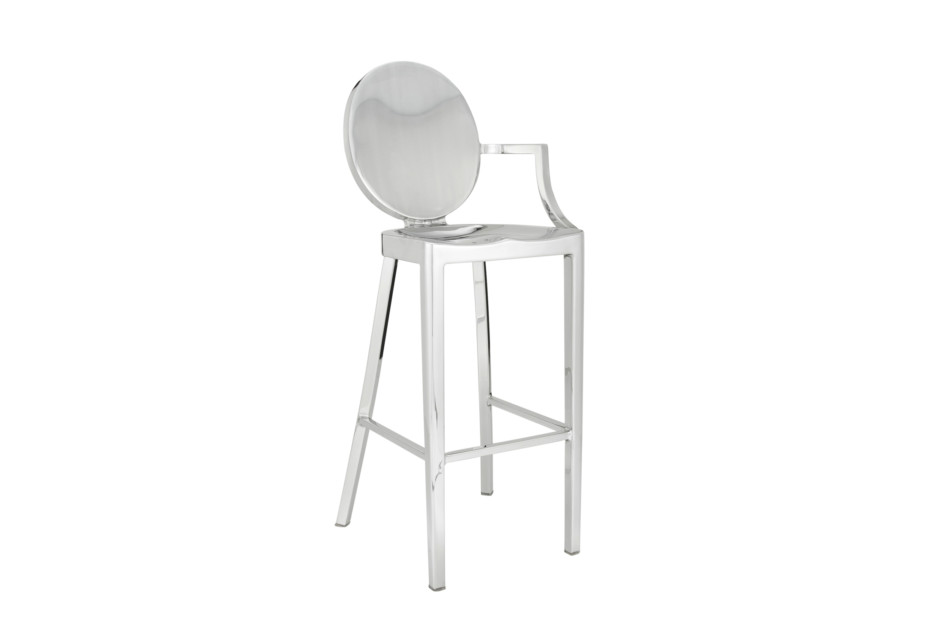 Super Kong Bar Stool With One Arm By Emeco Stylepark Squirreltailoven Fun Painted Chair Ideas Images Squirreltailovenorg