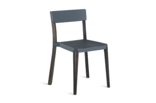 Lancaster Chair dark grey dark wood  by  Emeco