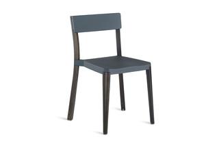 Lancaster Chair dark grey dark wood  by  Emeco