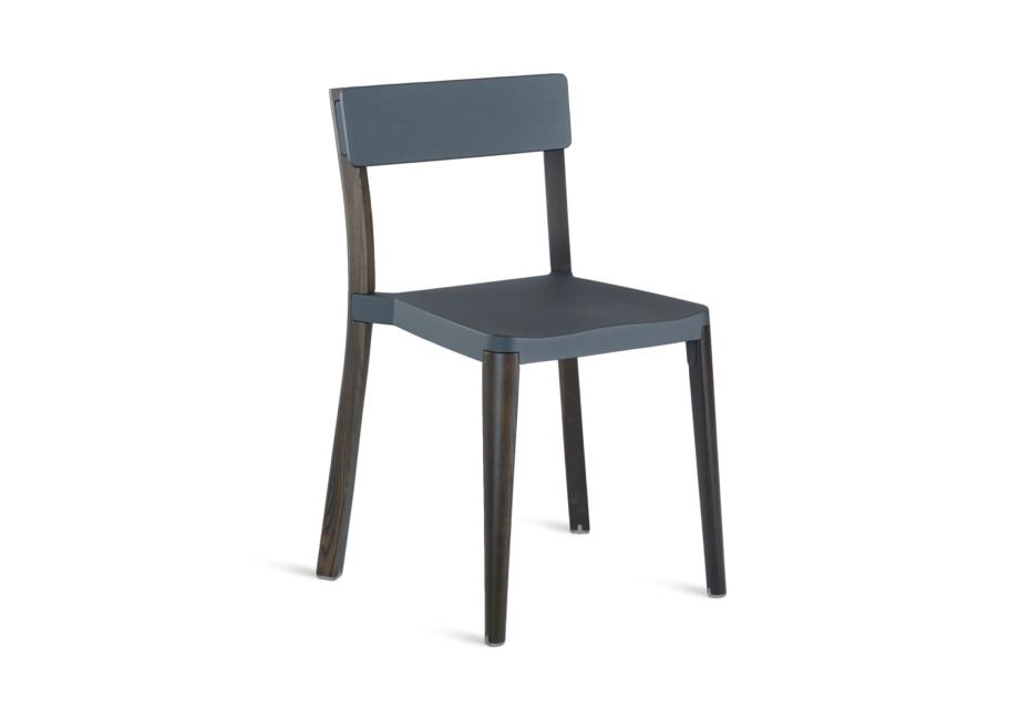Lancaster Chair dark grey dark wood