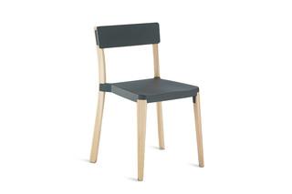 Lancaster Chair dark nano coat  by  Emeco