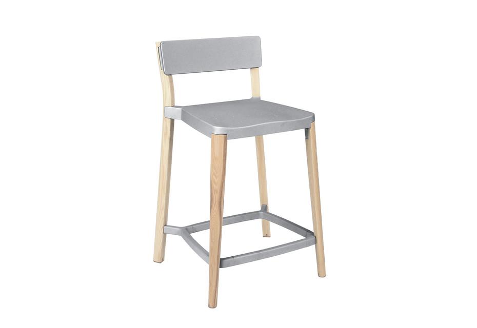 Lancaster Counter stool light nano coat light ash