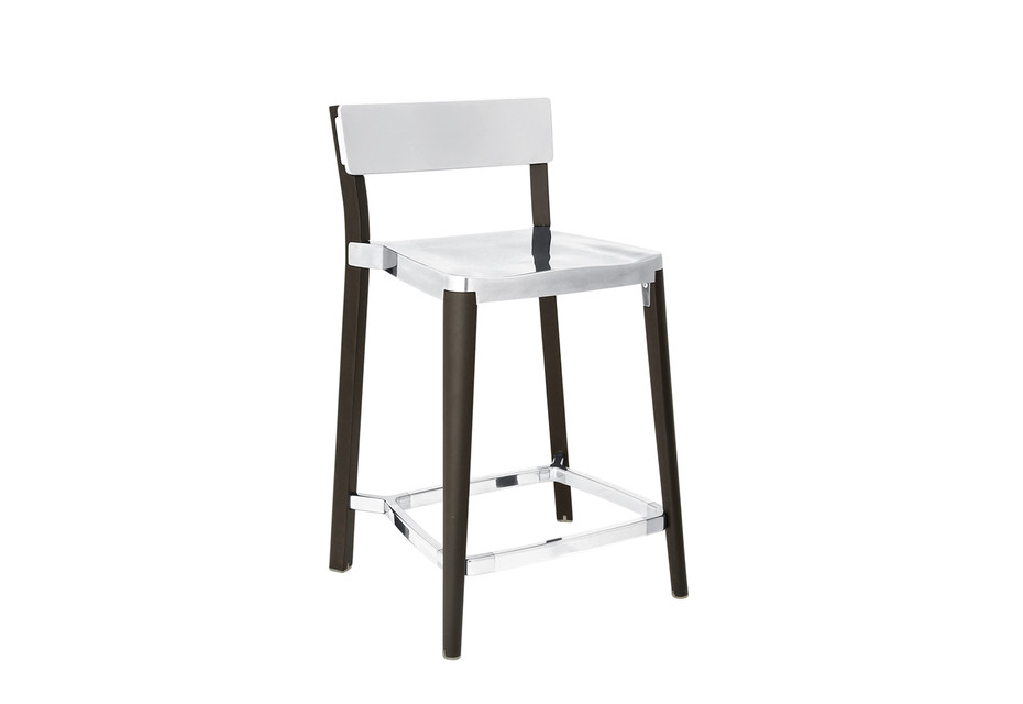 Lancaster Counter stool polished light ash