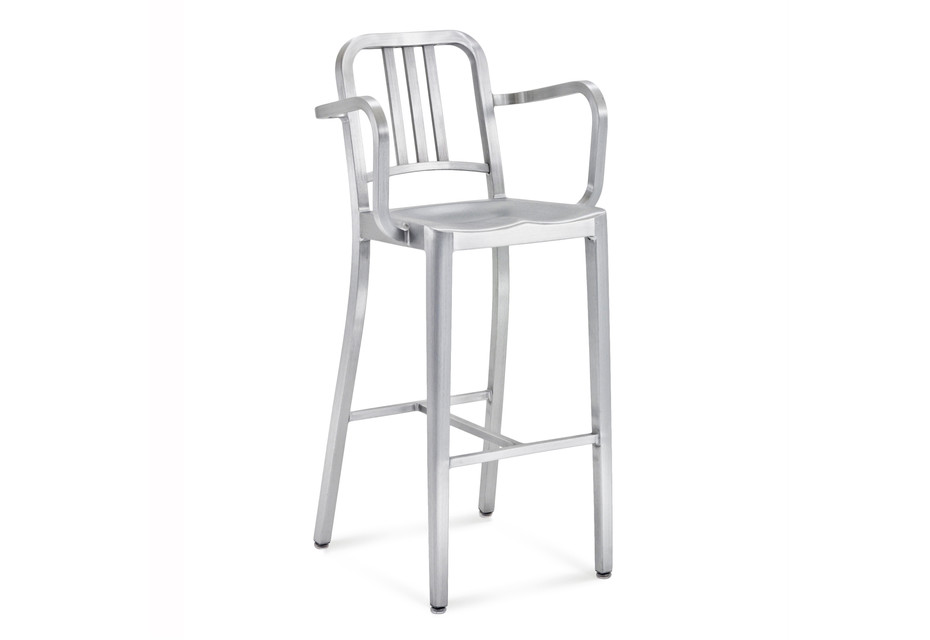 Navy® Bar stool with armrests