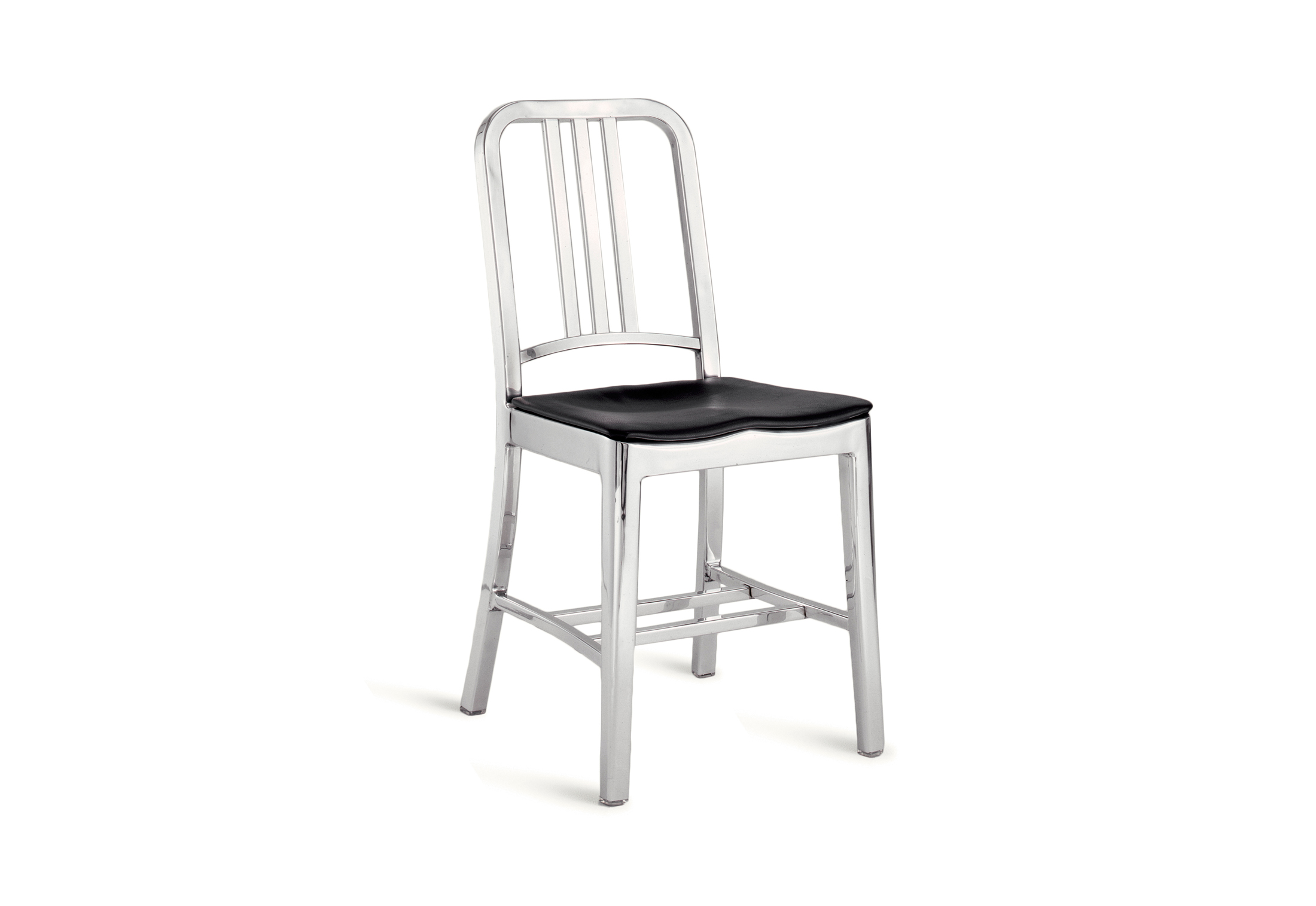 Navy Chair polished by Emeco