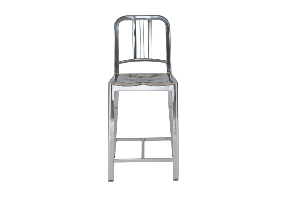 Navy® Counter stool polished