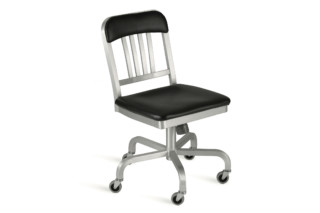Navy® Swivel chair semi-upholstered  by  Emeco