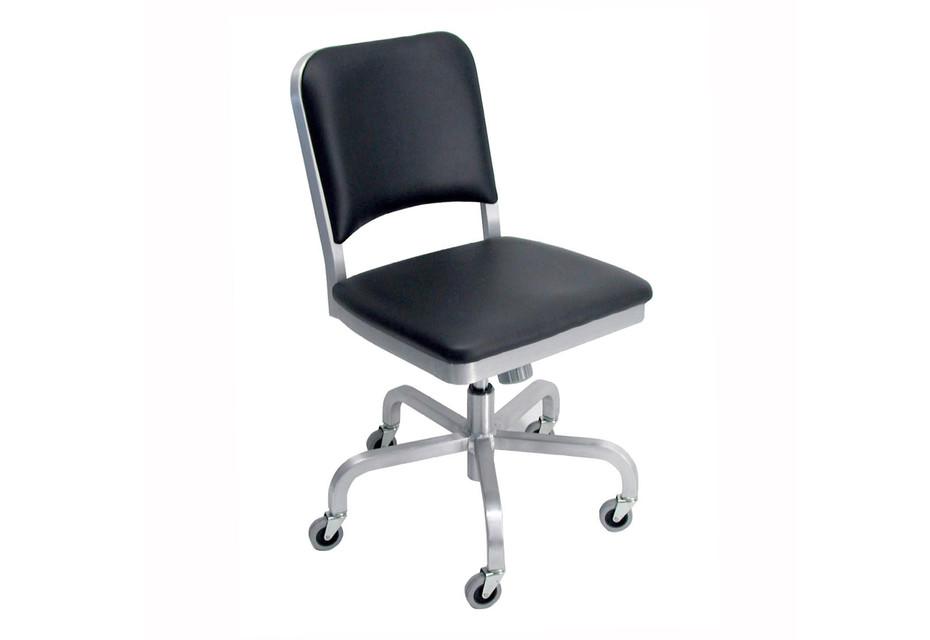 Navy® Swivel chair upholstered