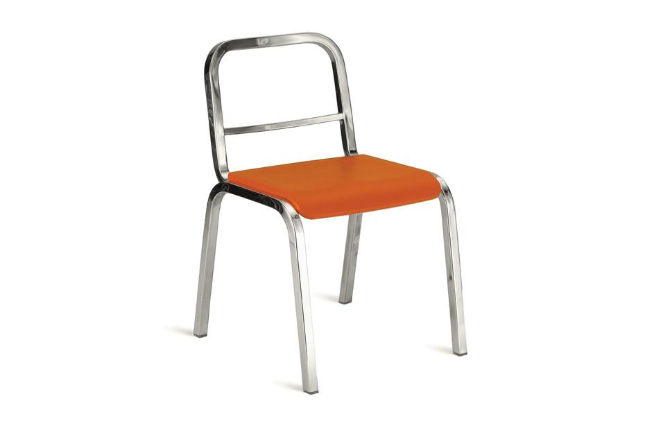 Nine-0™ stacking chair polished
