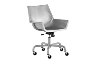 Sezz Swivel Chair with castors  by  Emeco