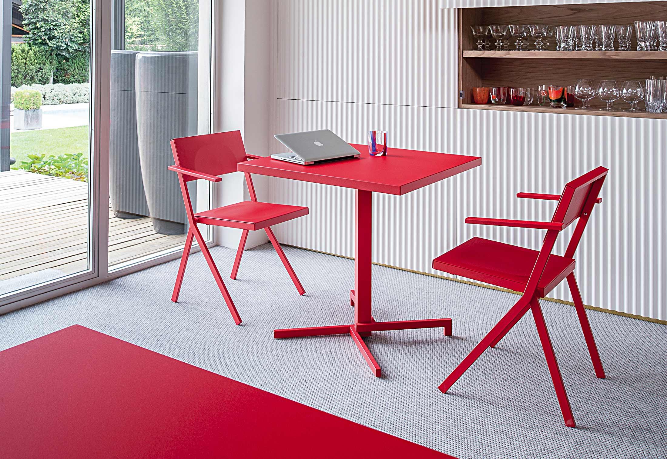 mia tisch quadratisch von emu stylepark. Black Bedroom Furniture Sets. Home Design Ideas