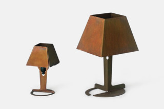 Fold Corten Table  von  Established & Sons