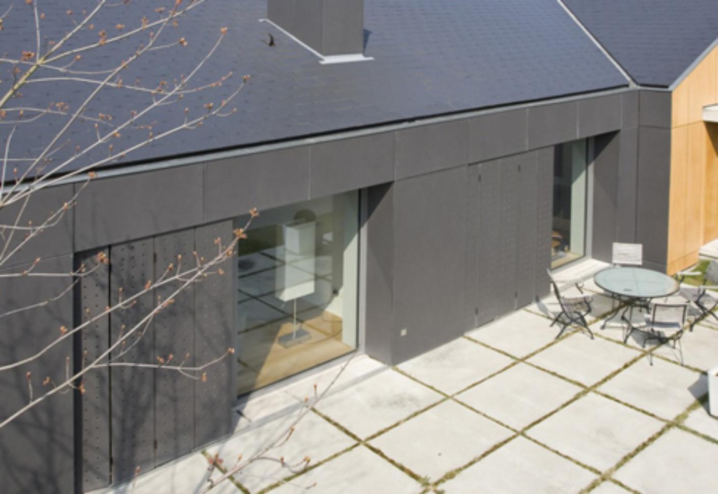 natura anthrazit fassadentafel von eternit deutschland stylepark. Black Bedroom Furniture Sets. Home Design Ideas