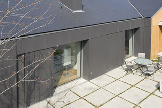 Natura anthracite, Façade panel  by  Eternit Germany