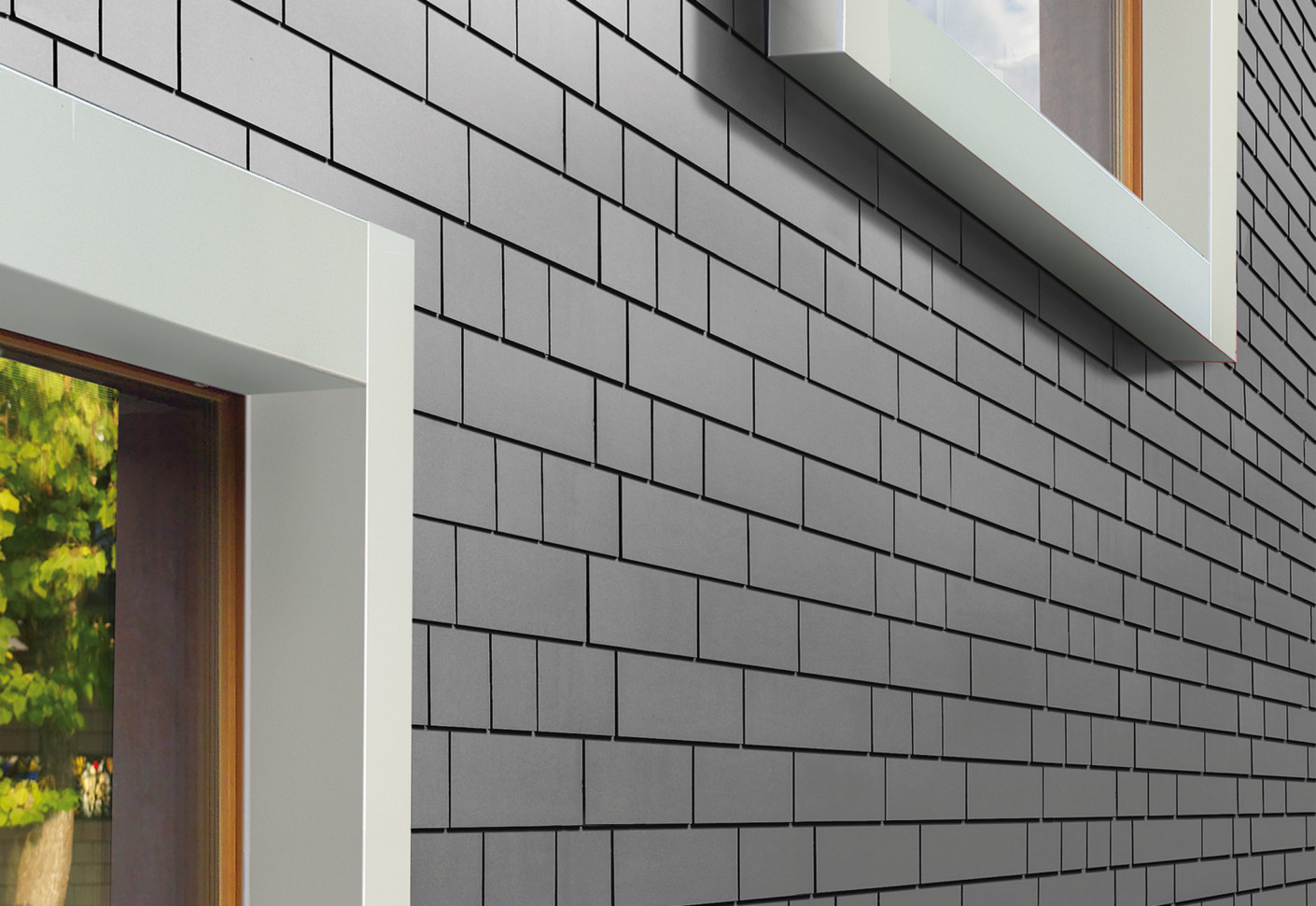Fiber Cement Panels For Exterior : Fiber cement panels small format by eternit switzerland