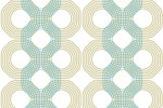 Luise Patterned wallpaper  by  Extratapete
