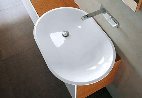 waschbecken oval von falper stylepark. Black Bedroom Furniture Sets. Home Design Ideas