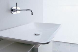 Above-mounted rectangular basin  by  Falper