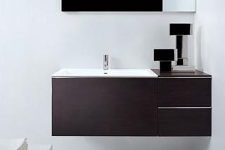 Gap basin unit with one big drawer  by  Falper