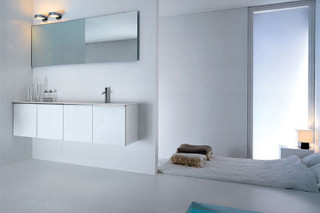 Gap basin unit with two doors  by  Falper