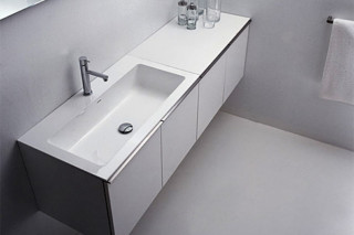 Gap wash basin for taps  by  Falper