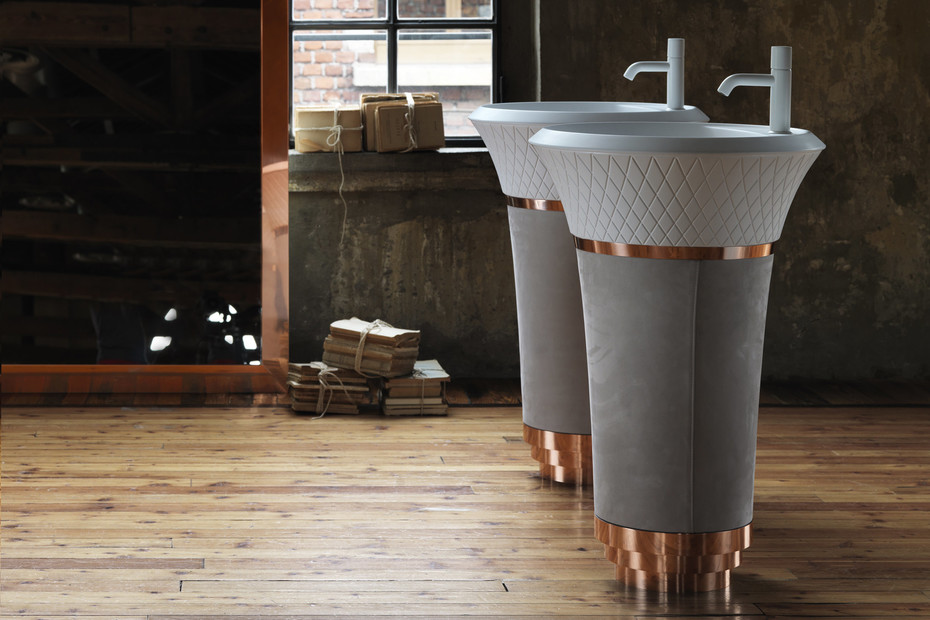 George freestanding basin