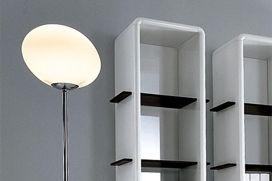 Peace Hotel floor glass lamp