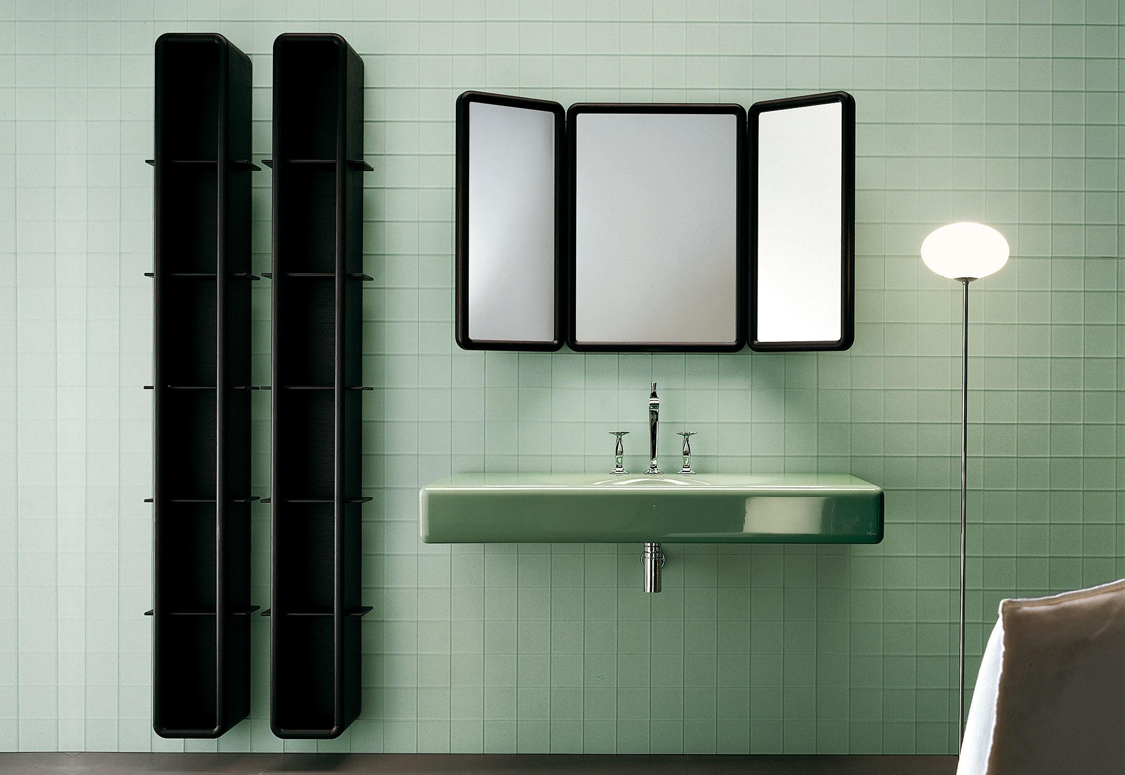 Folding bathroom mirror - Peace Hotel Folding Mirrorfalper Stylepark