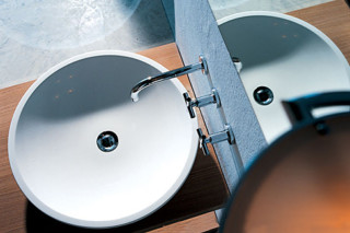 Round basin above-mounted  by  Falper
