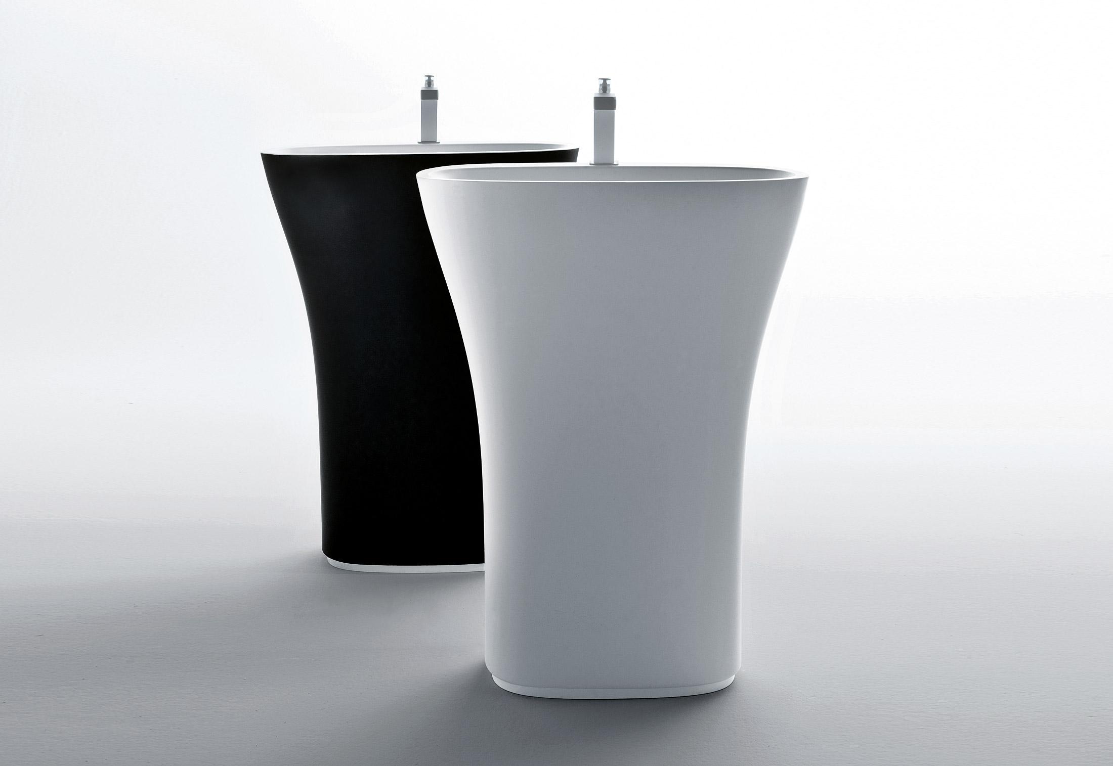 scoop freestanding basin by falper stylepark