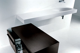Shape floor base unit  by  Falper