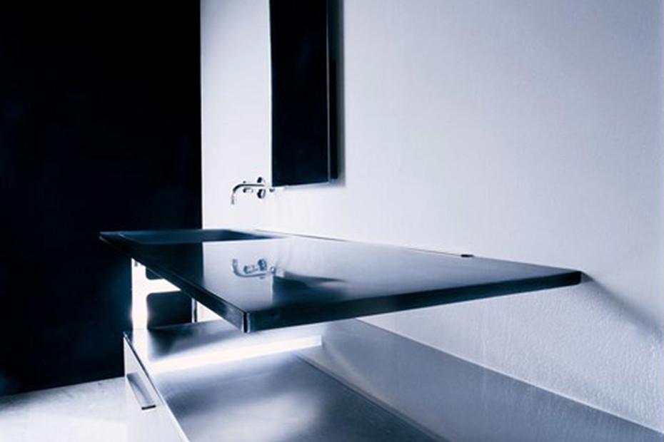 Via Veneto Waschbasin Glas