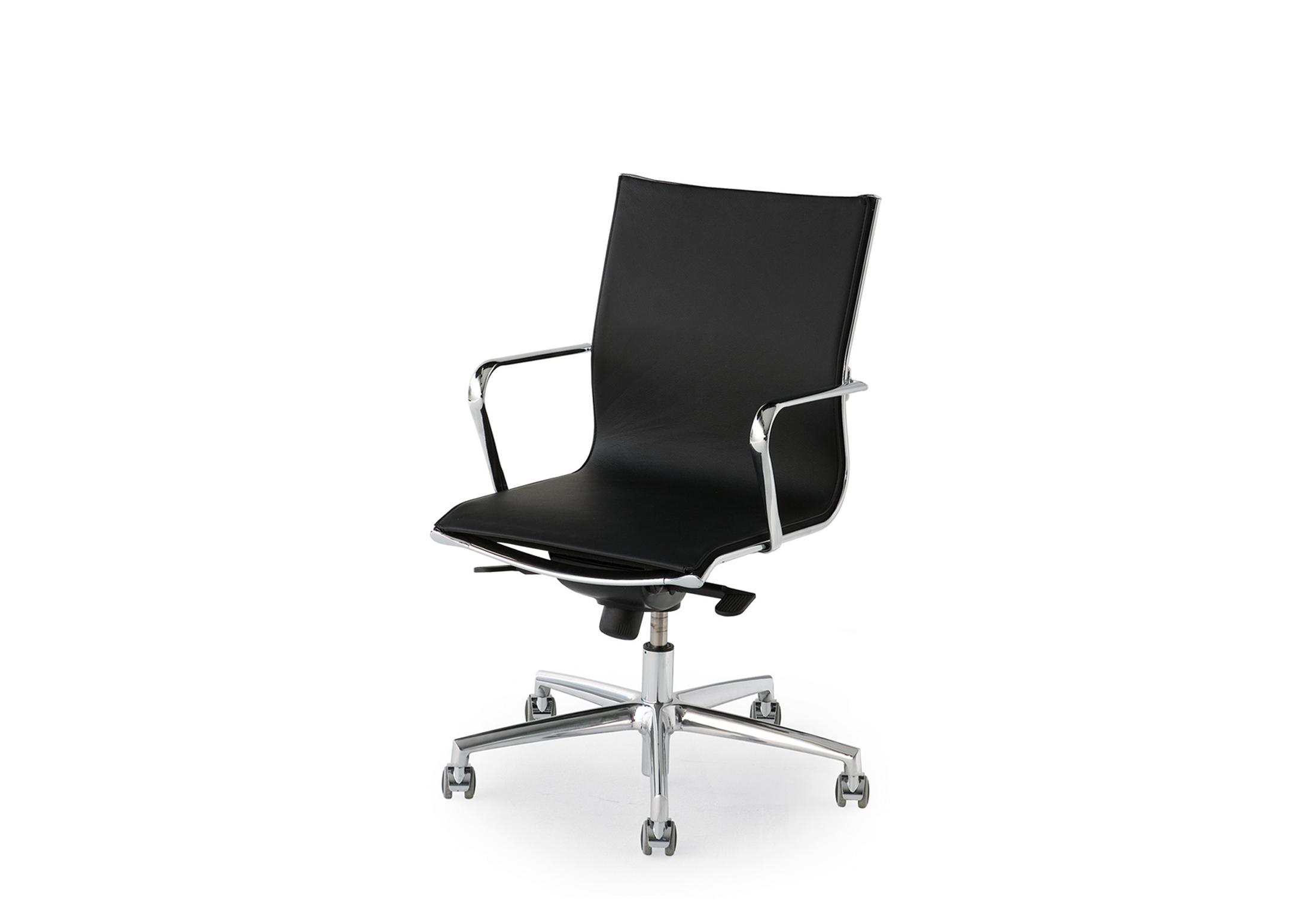 Elle Executive Swivel Chair Leather By Fantoni Stylepark
