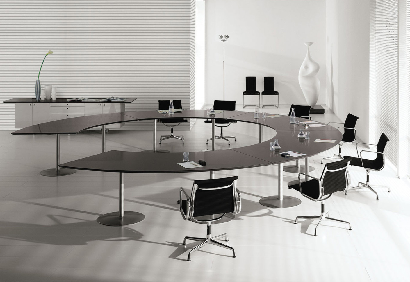 M 232 Ta Conference Tables By Fantoni Stylepark