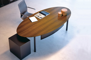 Mèta executive working table system  by  Fantoni
