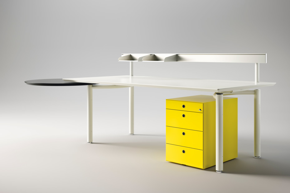 M 232 Ta Working Table System By Fantoni Stylepark