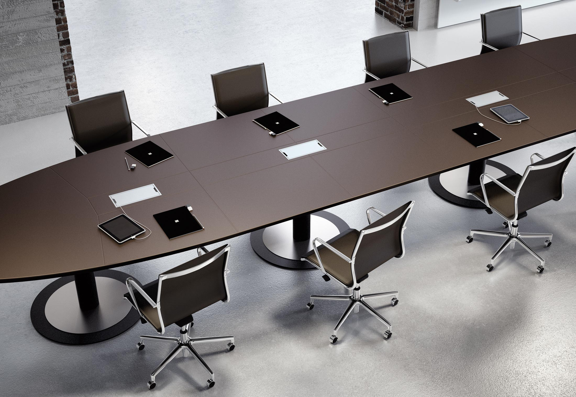 Multipliceo Modular Conference Table By Fantoni Stylepark