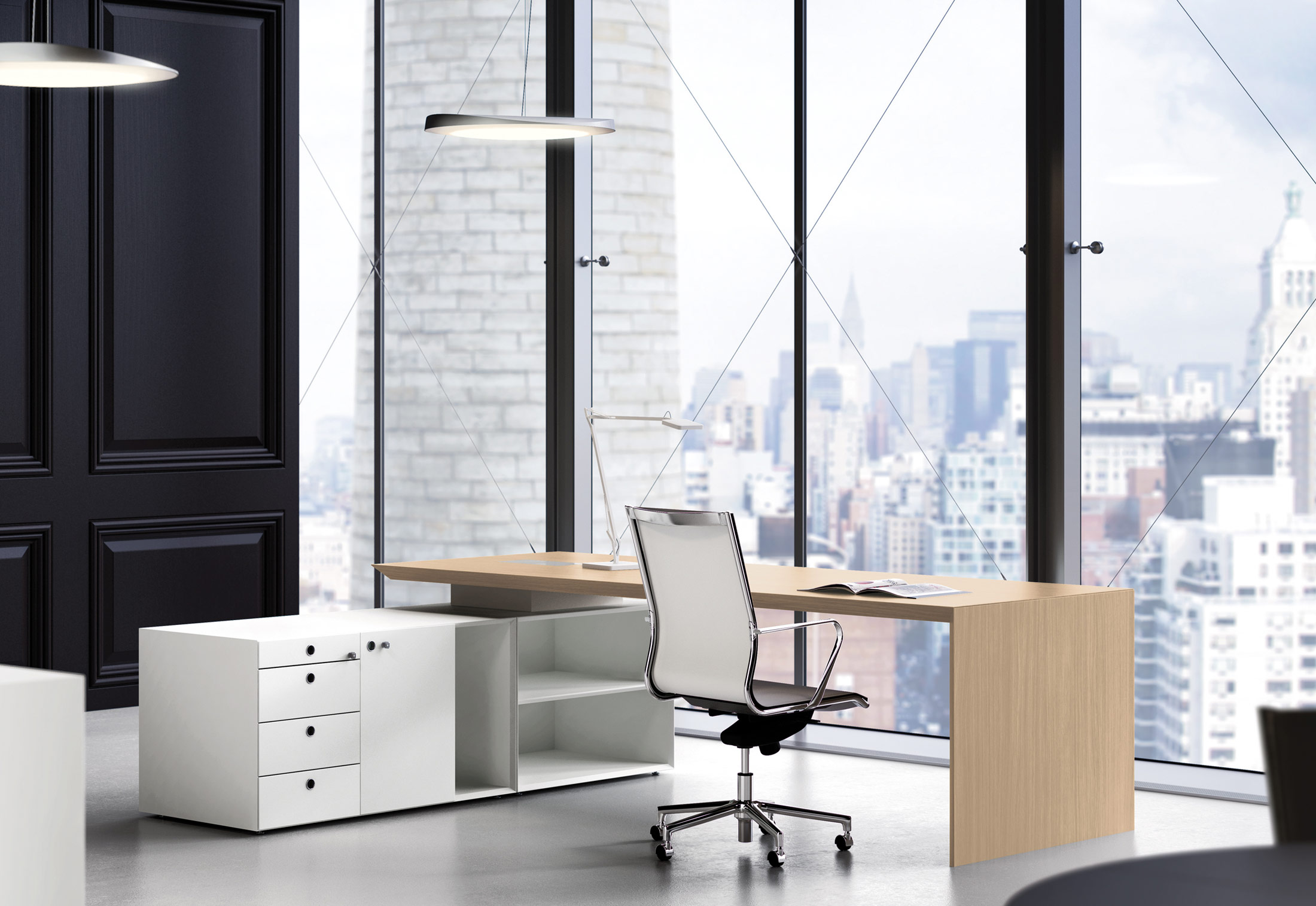 Multipliceo Working Desk System By Fantoni Stylepark