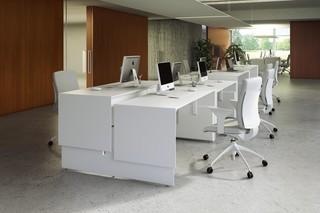 Quaranta5 working desk  by  Fantoni