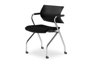 Vanilla tip-up chair  by  Fantoni