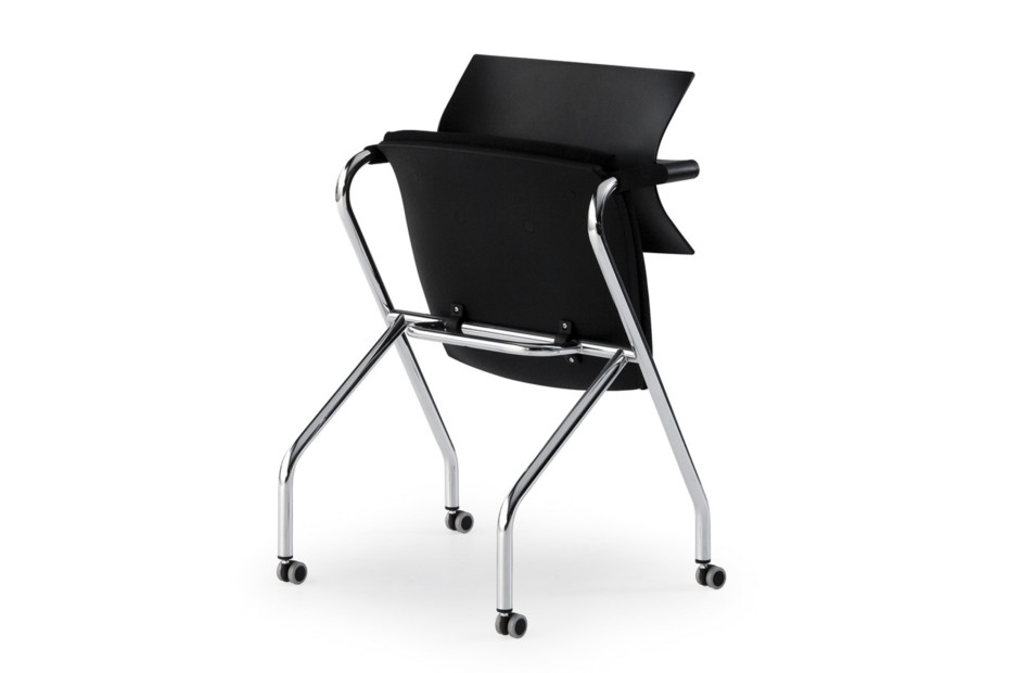 Vanilla tip-up chair