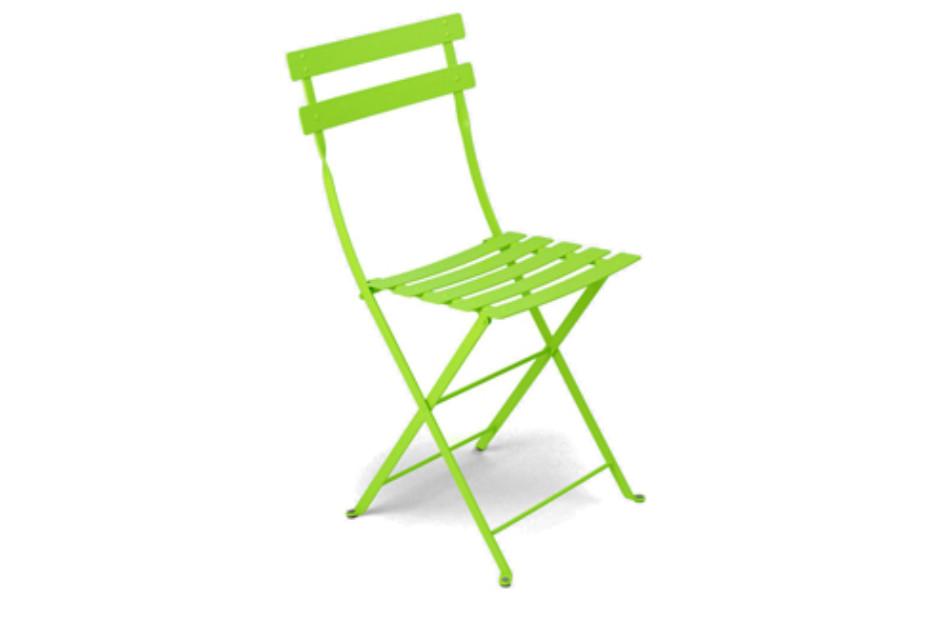 Bistro folding chair metal